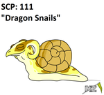 SCP: 111 Dragon Snails by metalzaki