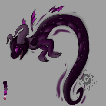 Dargon Doodle by RavenHaywire