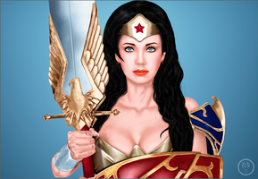 Wonder Woman 4ever by KNILERT