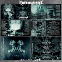 Hymns Of Ahriman by FUROR ART ONTOGENY CD Booklet by FurorArt