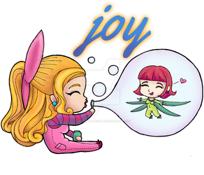 Rosie and Rockette: JOY by CelestialPearl