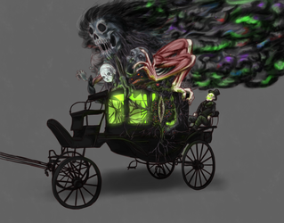 Runaway Carriage by ObsidianTrance