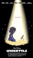 Undertale film poster by DangerMask