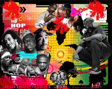 carlos black history music by horacephotoshop