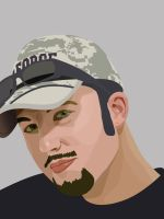 Vector Portrait -INCOMPLETE- by Bl1ghtmare