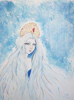Snow Queen by CaramelBoucle