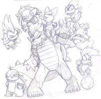 koopas by Bear-Clawed