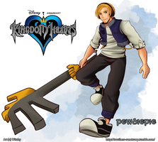 Pewdiepie Plays Kingdom Hearts by witch-girl-pilar