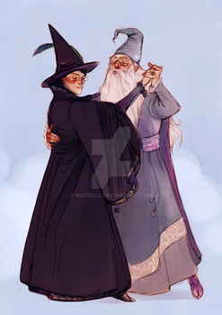 Waltzing Wizards by Natello
