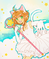 Commission - CardCaptor Sakura by Firefly-Raye