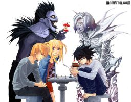 Death Note by meiwren