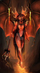 Succubus- by Shaedry