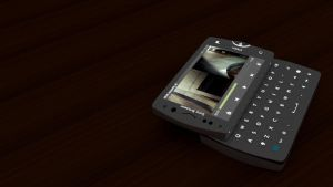 Xperia mini pro SK17i render backlit wallpaper by cs098