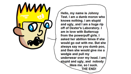 Johnny Test's Moron Speech: Remaster by StarviendSir