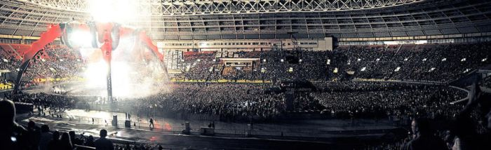 U2 in Moscow 20 - Panorama by WilliH