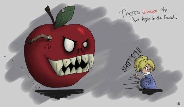 Bad Apple by Amber-Blossom