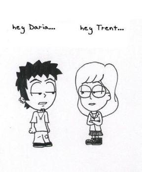 When Trent meets Daria by Dudy11