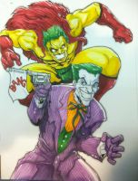 The Joker vs. The Creep by DKHindelang