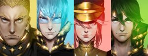 kill la kill Elite Four by a76106558