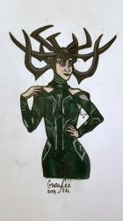 Hela Good by CaptainSguiggle