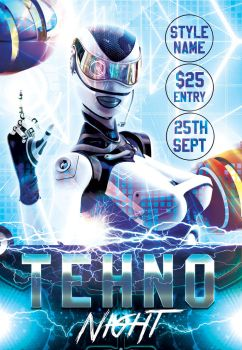 Techno-night  by Styleflyers