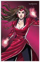 Scarlet Witch by leexopher