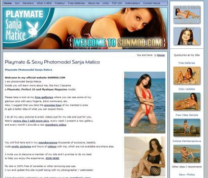 Sanja my own mainpage by sanjamatice