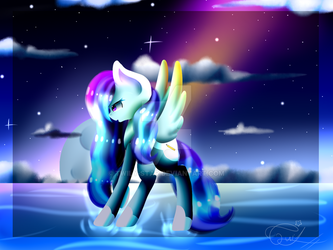 Contest entry :Cloudy Sky by Twily-Star