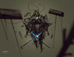 Twin Sword of the Ice by benedickbana