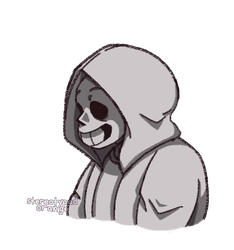 spooky boi with a hood by Stereotyped-Orange