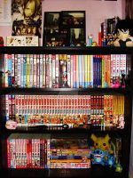 My Manga Collection by Gazette-Love