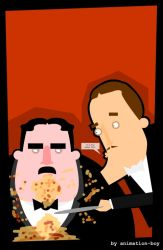 Mr Creosote by animation-boy