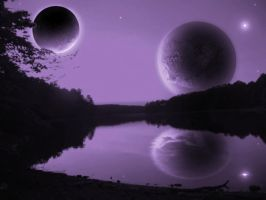 Purple Scene 5 by GeneAut