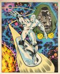 Silver Surfer by TomMartinArt