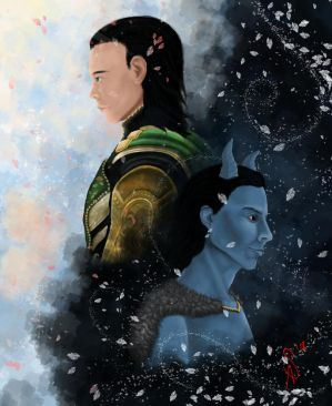 Loki X Reader: Of Gods and Time Lords - CH 1 by VernichtenAlles on