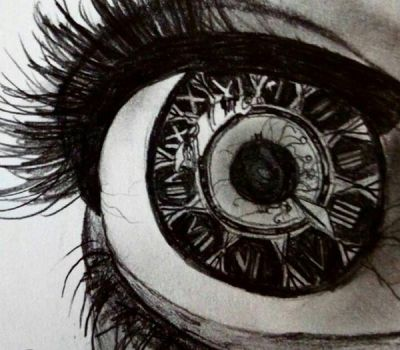 we all see time differently  by Angelina450