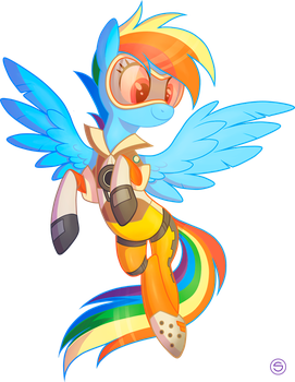 Rainbow as Tracer by StasySolitude