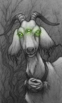 name that mutant goat by CopperAge