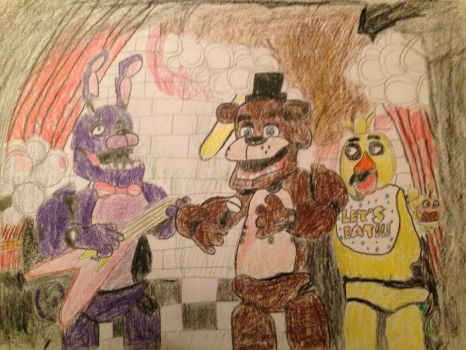 Five Nights At Freddy's by basilhs333