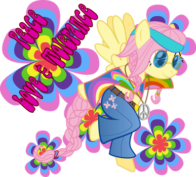 FLuttershy: Peace, Love and Tolerance by frozenfish696