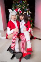 Chocola From Vanilla e Chocola Christmas Version by MarinyanCosplay