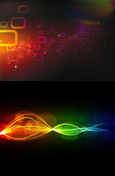 Abstract Light backgrounds vector by vectorbackgrounds