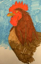 Rooster 3 by greytrousers