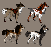 Canine Auction 1 by GalaxXXxyCat