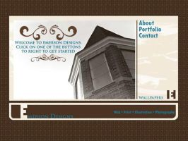 Emerson Designs Home Page by alphamale1980