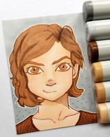 +Anna ACEO - OC+ by madhouse-arts