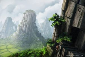 Yangshou Mountains (with Video) by jjpeabody