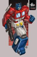 1/34 Optimus Prime by FranciscoETCHART