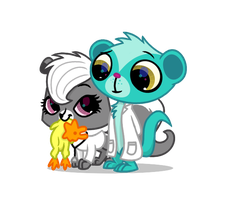 LPS- Doctor and Nurse by bristlestream