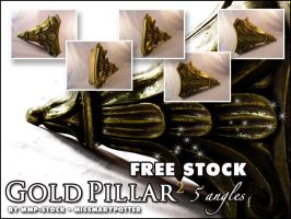 FREE STOCK, Gold Pillar 2 by mmp-stock